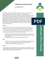 PQCNC Birth Certificate Pilot Charter