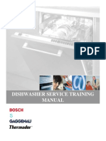Bosch Dishwasher Training