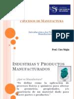Introduccin La Manufactura 20181