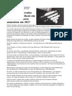 Presença de Cocaína Nas Águas Residuais Em Lisboa e No Porto Aumentou Em 2017