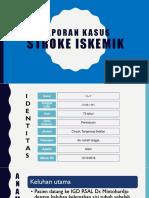 laporan kasus stroke iskemik