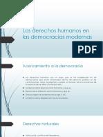Derechos Humanos en Las Democracias