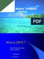 CMTS Setup