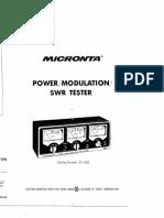 Micronta Power Mod SWR21 522(1)