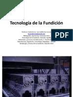1.Tecnología de Fundiciones