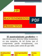 Unidad IV Mantenimiento Predictivo