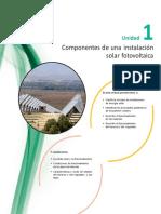 Componentes de Una Instalacion Fotovoltaica