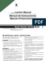 420 Instruction Manual