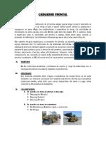 Informe Cargador Frontal