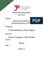 Secuencia Neumatica Con Plc