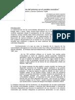 Resonancia Del Entorno en El Cambio Evolutivo. PDF