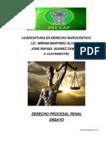 Derecho Procesal Penal Ensayo