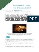 Los Genes de Neandertal
