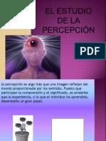 Estudio de la percepción