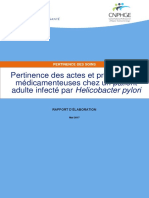 Helicobacter Rapport Elaboration