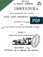 Doce Libros de Agricultura. Lucio_Junio_Moderato_Columela