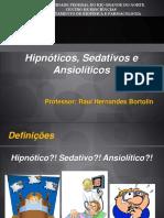 Hipnotocos Sedativos e Ansioliticos Aula CRF