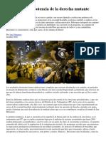 Brasil La Nueva Potencia de La Derecha Mutante JoséNatanson