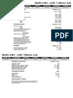 Isuzu 4jb1- 4jb1 t (Motor 2,8) (1)