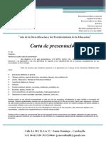 Carta de Presentacion de JYS