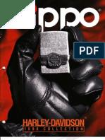 1998 Harley Davidson Zippo Catalog