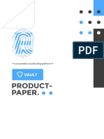 Vault product paper