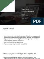 20181003 - PORTO - Marketing Digital