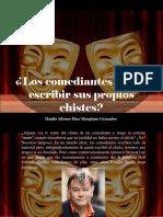 Danilo Alfonso Díaz Manglano Granados - ¿Los Comediantes Deben Escribir Sus Propios Chistes?