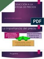Estrategia de Precios Sesion 9 Pedro Peña