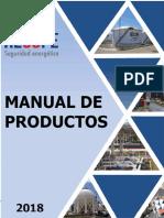 Manual de Productos 2018