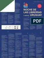 NOCHE LIBRERIAS 2018 Programa de Actividades