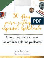 30 Dias Para Entender Español Hablado