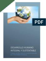 desarrollo humano integral