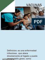 VACUNAS.. Hepatitis y Influenza