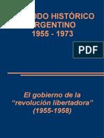 el gobierno de la revolución libertadora 1955-1958