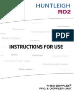 602325-4 RD2 User Manual Full