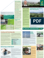 Ciarán Cuffe Newsletter - August 2010