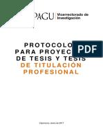 12. Protocolo Tesis Pregrado Upagu