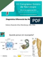 Diagnóstico diferencial das neuropatias