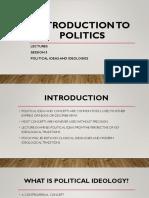 2. Political Ideologies
