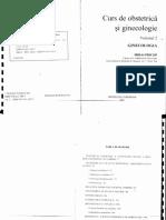 Curs de Obstetrică Și Ginecologie Vol 2 Gin Pricop Iași 2001
