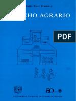 Derecho Agrario - Mario Ruiz Masieu