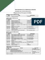 Programa Curso y Congreso SOMECIMA 2018
