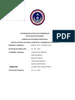 Informe Destilacion Del Alcohol de Piña 1