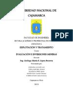 Evaluacion e Inversiones Mineras - Final