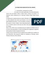 Ecuador Entre Los Paises Mas Democraticos Del Mundo