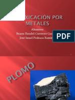 Intoxicación Por Metales - Plomo y Arsénico
