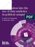 Investigation Into the Use of Data Analytics in Political Campaigns Final 20181105
