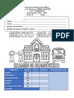 ExamenDiagnostico6SEXTO18-19MEEP