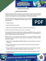 """Evidencia 2 """"Análisis de Cargos Colfrutik"""""""